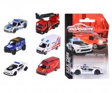 majorette S.O.S. Fahrzeuge, 6-fach sortiert