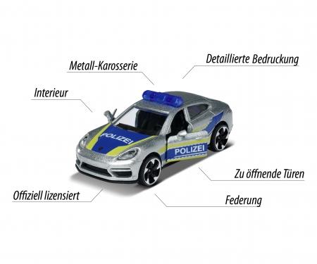 majorette Majorette Porsche Panamera Police
