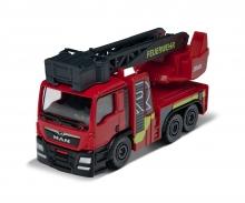 majorette MAN TGS Rosenbauer Feuerwehrauto - Drehleiter
