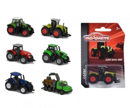 majorette Farm Fahrzeuge, 6-fach sortiert