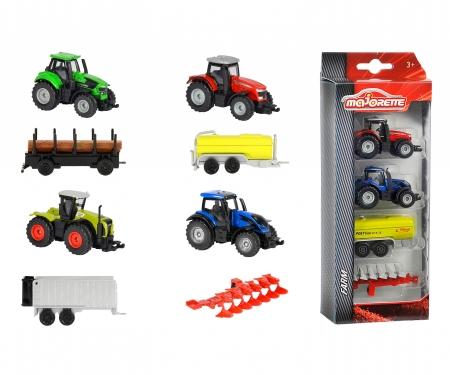 Majorette Farm Set 4 Pièces