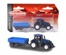 majorette Majorette Farm Small Set Valtra T4 with Trailer