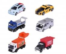 majorette City Fahrzeuge, 6-fach sortiert