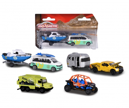 Explorer Trailer Assortment, 3-asst.