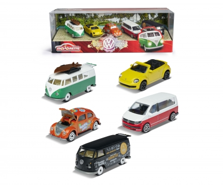 "majorette VW ""THE ORIGINALS"" 5 Pieces Giftpack"