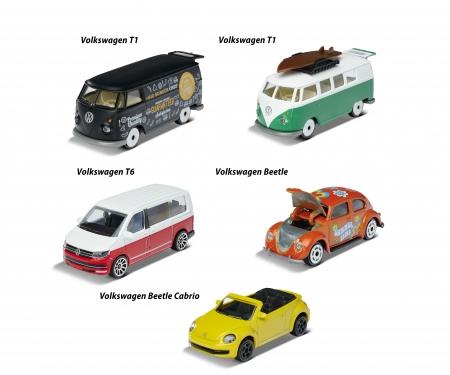 "majorette VW ""THE ORIGINALS"" 5er Geschenkset"