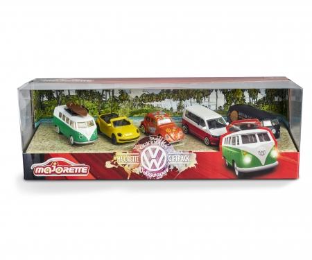 majorette Gift Pack 5 coches Volkswagen