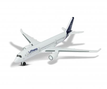 majorette Lufthansa Flugzeug Airbus 350