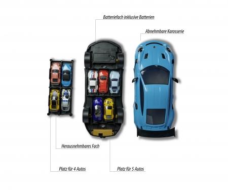 majorette Porsche 911 GT3 RS Carry Case + 1 Auto