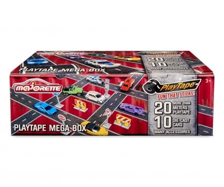 majorette 20 Pcs. Playtape Mega box