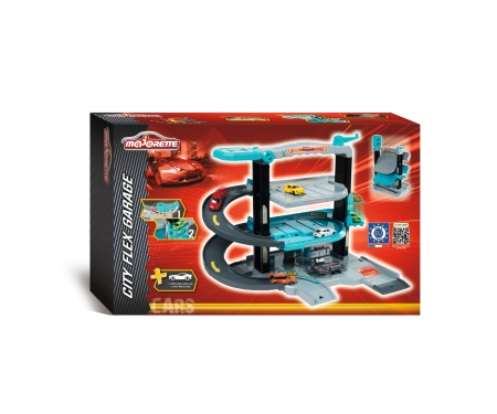 majorette City Flex Garage + 1 Car