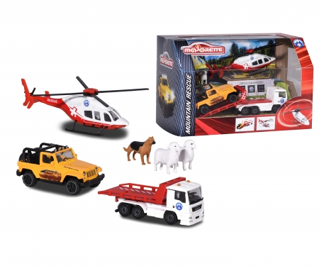 majorette Diorama Mountain Rescue Playset