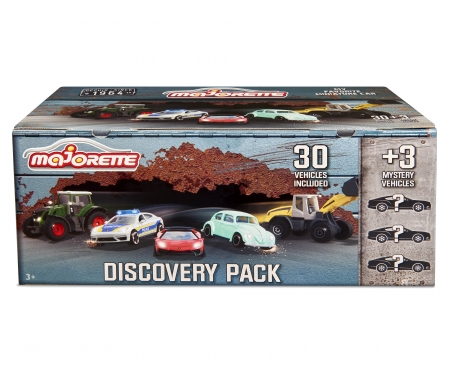 majorette 30 + 3 Discovery Pack