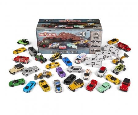 majorette Discovery Pack - 30 Autos + 3 Mystery Autos