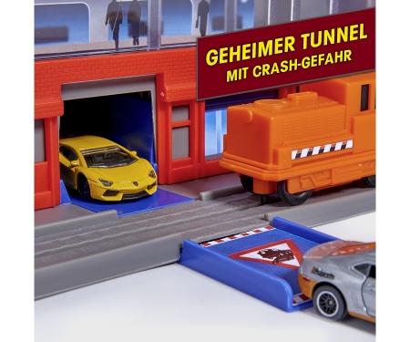 majorette Super City Garage + 6 Autos