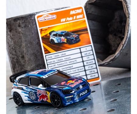 majorette Racing VW Polo WRC Champion + Sammelkarte