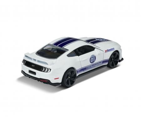 majorette Racing Ford Mustang GT + Sammelkarte
