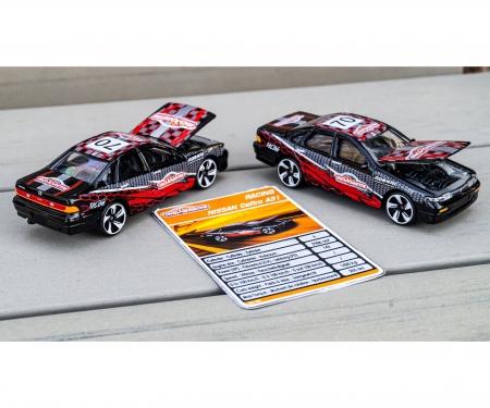 majorette Racing Nissan Cefiro + Sammelkarte