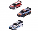 majorette WRC Cars w. collectors box, 4-asst.