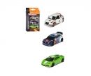 majorette 3er Set Rennfahrzeuge - VW Polo R WRC, Audi A1 , Lamborghini Gallardo