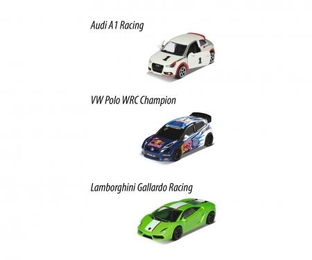 majorette Racing 3 Pieces Set, 1-sort. Version 1