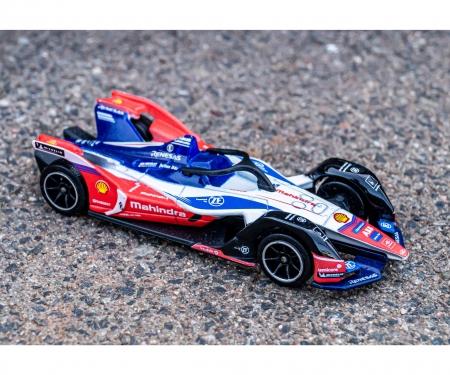 majorette Formula-E Deluxe Gen 2 Car Mahindra + Sammelbox