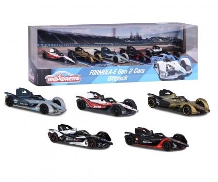majorette Formula-E 5 Pieces Giftpack