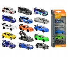 majorette Set 5 coches Racing
