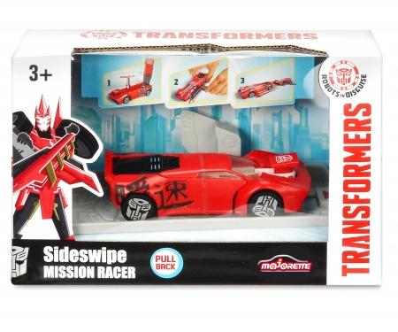 majorette Transformers Véhicule Lanceur 11cm Sideswipe