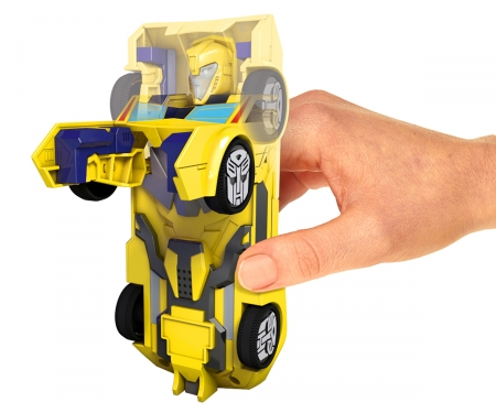 majorette Transformers Robot Fighter 15cm Bumblebee