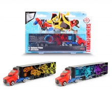 majorette Transformers Optimus Prime Trailer