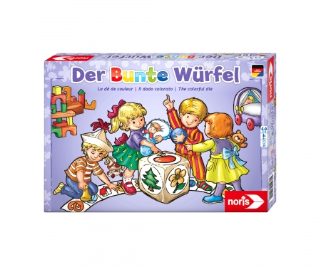 noris_spiele Der bunte Würfel