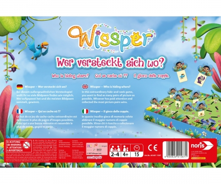 noris_spiele Wissper - Where are you hiding?