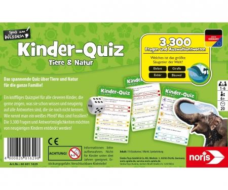 noris_spiele Kids quiz - animals & nature