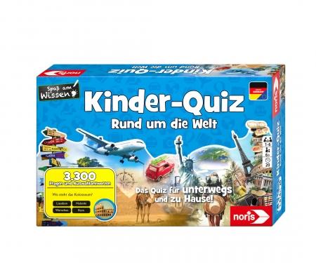 noris_spiele Kinderquiz - Rund um die Welt