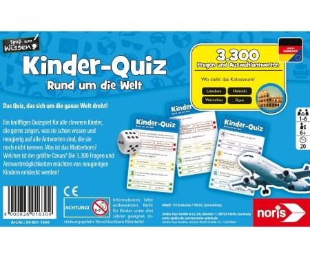 noris_spiele Kids quiz - around the world