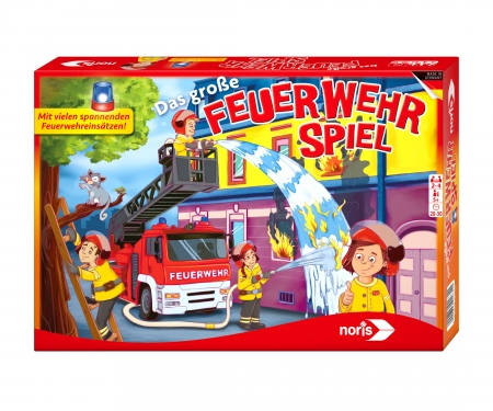 noris_spiele Working at the fire brigade