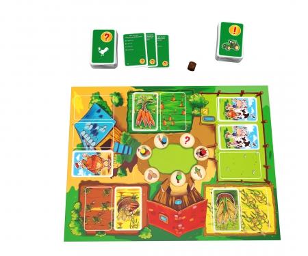 noris_spiele Das große Bauernhofspiel