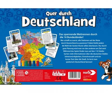 noris_spiele Quer durch Deutschland