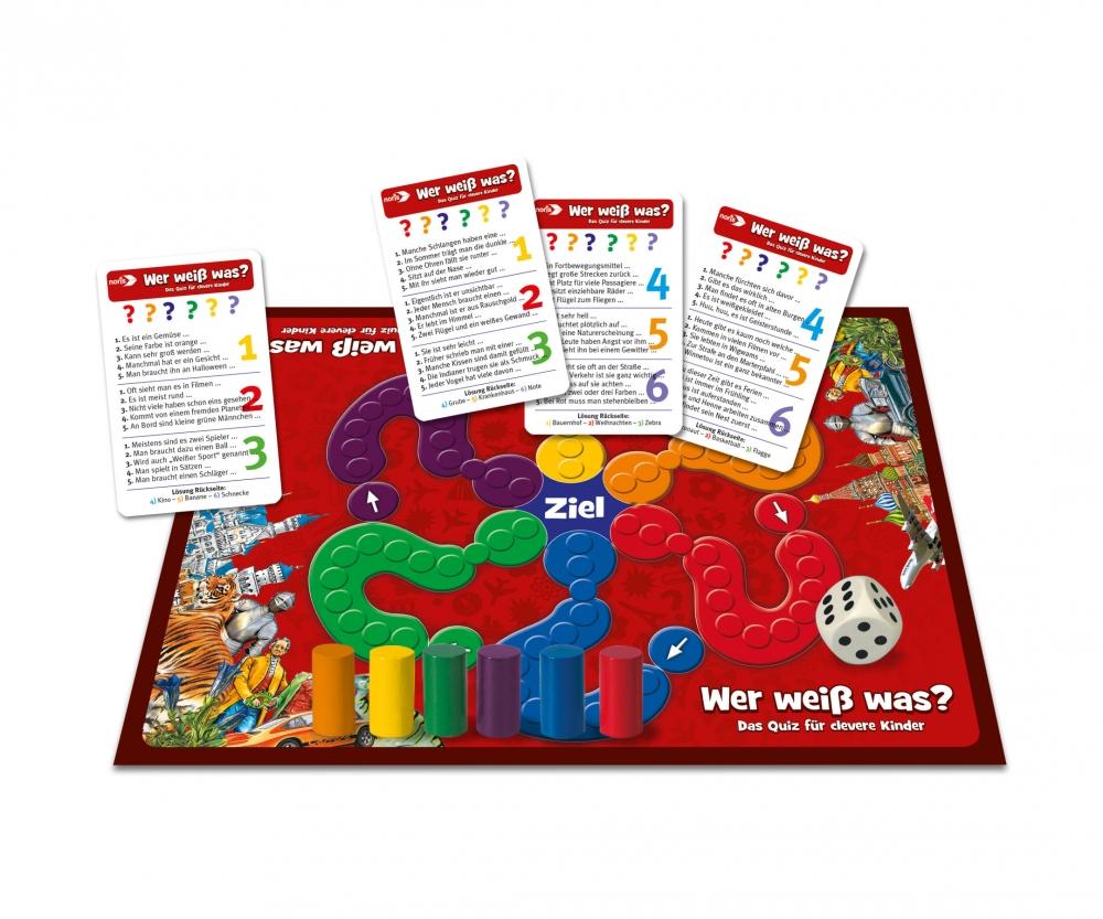b6bdce23cea4d4 Wer weiß was  - Das Quiz für clevere Kinder - Lernspiele ...