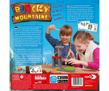 noris_spiele Blocky Mountains
