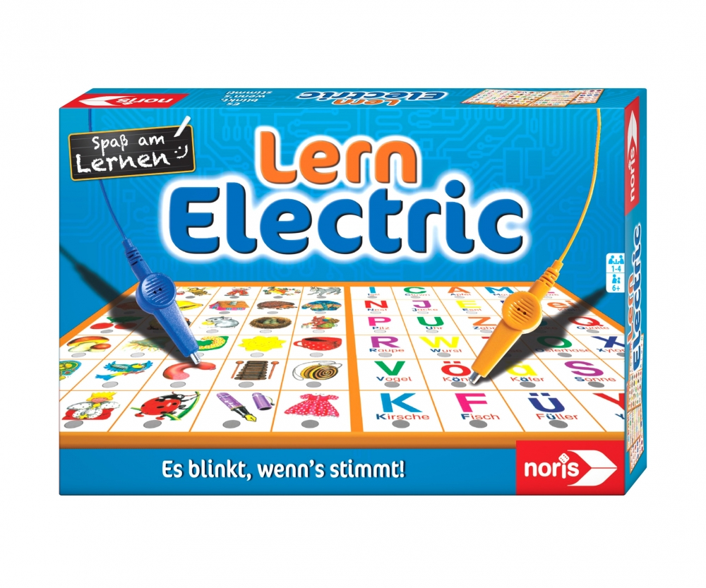 Noris 606013711 Lern Electric Der Lernspiel Klassiker Was