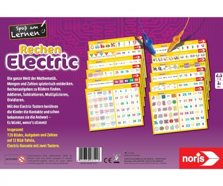 noris_spiele Electric Calculation electric