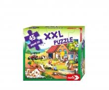 noris_spiele XXL Puzzle Urlaub auf dem Bauernhof