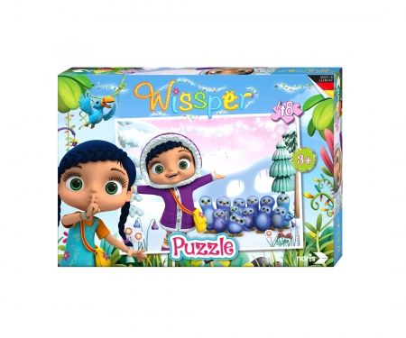 "Wissper - Puzzle 48pcs.""Ice World"""