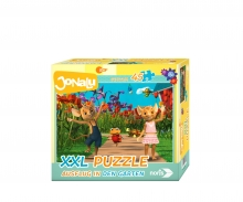 noris_spiele big-sized jigsaw-Excursion in the garden