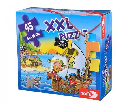 noris_spiele Gigantic jigsaw puzzle Boys 45 p
