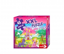 noris_spiele XXL Puzzle Prinzessin im Zauberwald