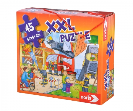 noris_spiele big-sized jigsaw puzzle fire station 45