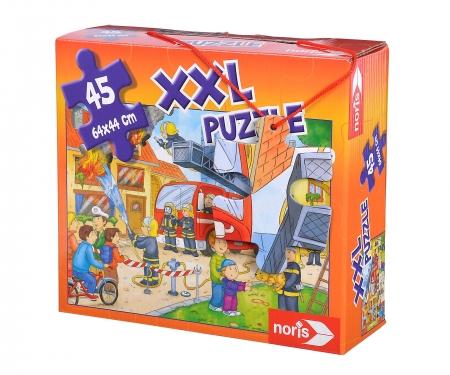 noris_spiele XXL Puzzle Feuerwehr im Einsatz